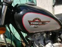 Vixen 125 Motorcycle