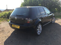 2002 VOLKSWAGEN GOLF GTI BLACK