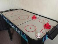 Air hockey indoor game