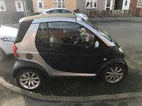 Smart car fortwo cabriolet for sale or swap