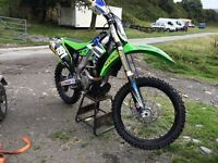 Kawasaki kxf250 not yzf rmz sxf crf