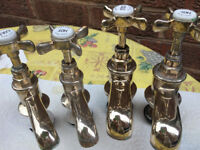 SOLID BRASS TAPS