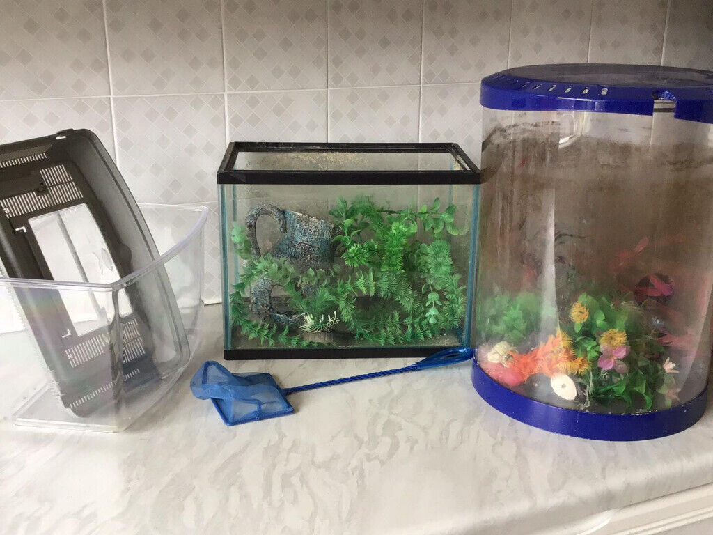 3 fish tanks for sale | in Crieff, Perth and Kinross | Gumtree