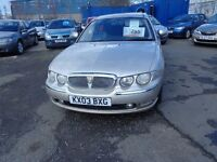 2003 Rover75 Diesel(bmwpowered)MOT'd MAR 17 £595