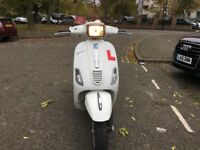 PIAGGIO VESPA S125CC WHITE 2008 LOW MILEAGE HPI CLEAR!!