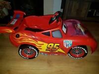 Lightening McQueen battery powered car