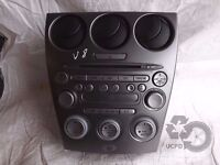 Mazda 6 2002-2008 Genuine Radio Stereo Audio CD Player ref. V8