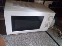 Neat Clean white Microwave