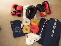 Kick Boxing/Martial Arts equipment