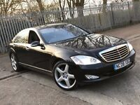 2008 MERCEDES BENZ S500 5.5 L LIMO PETROL AUTOMATIC S CLASS EXCELLENT DRIVE TOP SPEC NOT 7 SERIES A8