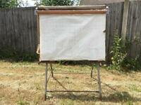 Vintage architects drawing board