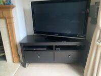 Ikea Hemnes TV unit - dark wood