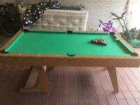6ft Rilley pool table