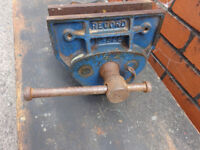 Vintage Record 52E woodworking vice