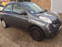 2007 Nissan Micra 1.2 16v Spirita Manual Gearbox, Low Mileage Clean In&Out. Run Smooth Long Mot