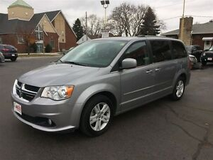 2014 DODGE GRAND CARAVAN CREW- REAR AIR & HEAT, CRUISE CONTROL,
