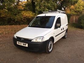 2007 VAUXHALL COMBO 1.3 CDTi ONE OWNER VERY LOW MILES ONE YEAR MOT