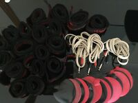 Carlton faradic pads, leads and straps