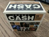 Johnny Cash 20 original albums CD box set - like new