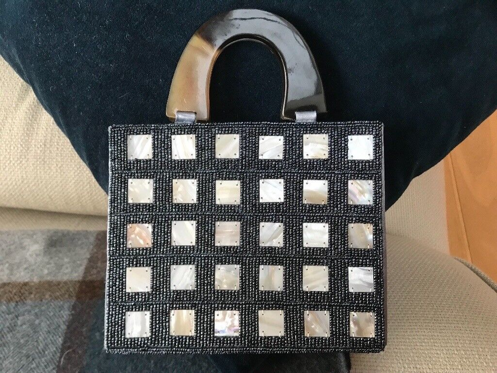 Evening bag, brand new with mother of pearl