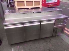 TOPPING BUFFET FRIDGE COMMERCIAL BUFFET SALAD BAR MACHINE CATERING DINER CAFE TAKEAWAY CANTEEN