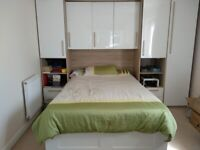 Luxury wardrobe with LED goes very well with IKEA Brimnes bed (wardrobes only)