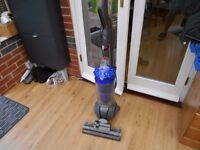 DYSON DC 41 ANIMAL BLUE BIN WITH ONE TOOL VERY STRONG SUCTION FROM BACK HOSE