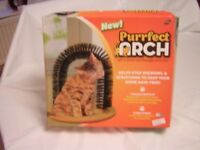 Purrfect Arch Cat Self Groomer and Massager