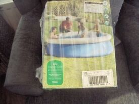 8 foot x 20in deep quick set pool brand new in box
