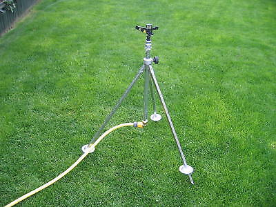 Irrigation Tripod Complete with Full Circle Sprinkler and Snap Fitting