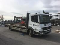 2006 Mercedez Atego 816 7.5T Flat Bed Lorry
