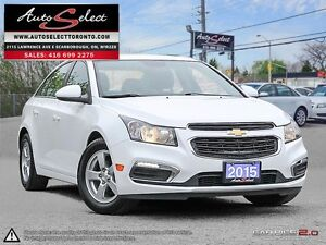 2015 Chevrolet Cruze ONLY 37K! **LED LIGHTS PKG** LEATHER *BA...