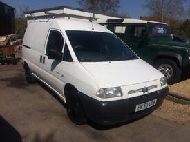 Citroen Dispatch 1.9 Van. 2003 One owner from new.