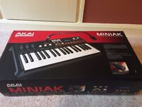Akai Miniak Professional Virtual Analog Synthesizer with Vocoder