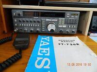 Yaesu ft 736r vhf/uhf multimode