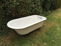 Original roll top, cast Iron bath. Great condition, recently removed from our 1890's house.