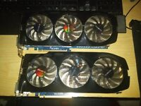 Gigabyte GTX 680 x2 (GV-N680OC-2GD) (Refurbished) (Buy as a pair or individuals) (with box)