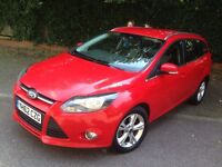 Ford Focus Estate 2013 2.0 TDCi 140 Zetec 5dr Powershift ** DIESEL** AUTOMATIC ** 1 OWNER FROM NEW