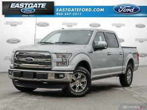2016 Ford F-150 LARIAT 502A CHROME PKG