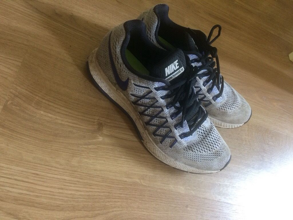 12 Pairs of Nike Pegasus Running Shoesin Bromham, BedfordshireGumtree - Great chance to make some money, 12 pairs of used Nike Running shoes... RRP is £70 £90 a pair. Each pair will sell for £25 40 (check eBay). Or good for stall holders. All Mens size 10. £120 and if youve got some time to spare you could machine...