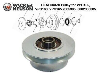 Wacker Oem Clutch Pulley For Vpg155 Vpg160 Vpg165 Compactor 2005305 5002005305