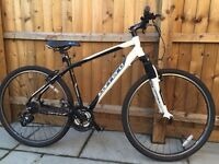 "Carrera Crossfire.1 - Mens Hybrid Bike (19"" frame). Excellent Condition with Accessories"