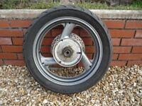 Yamaha Diversion XJ 900s Rear Wheel.