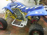 RAPTOR 66O 2006 FULL RACED UP TOP SPEC complete rebuild reduced price