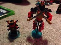 Lego dimensions fun pack ninjago nya Samurai mech