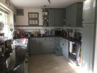 Complete kitchen including oven, gas hob, sink, taps and granite top