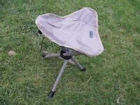 Three Decathlon Tripod Camping Stools, Excellent Condition