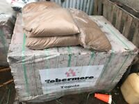 Qty 840 Tobermore Tegula Bricks 170x190x150 (26 Sq M) , Sand and Sets