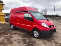 2010 RED RENAULT TRAFIC LH29 DCI 115..... NOW BACK IN STOCK JUST ARRIVED