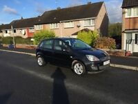 Ford Fiesta 5 door in black low miles long mot ideal 1st car px welcome